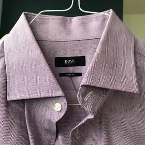 Men's Purple Dress Shirt